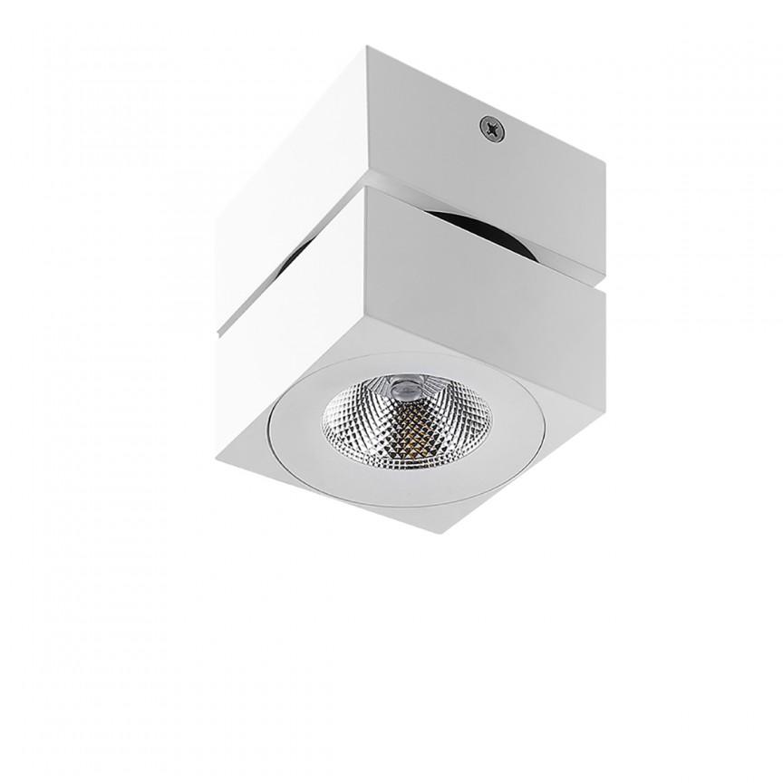 Spot LED modern aplicat tavan/plafon DIADO alb, Spoturi aplicate - tavan / perete, Corpuri de iluminat, lustre, aplice, veioze, lampadare, plafoniere. Mobilier si decoratiuni, oglinzi, scaune, fotolii. Oferte speciale iluminat interior si exterior. Livram in toata tara.  a