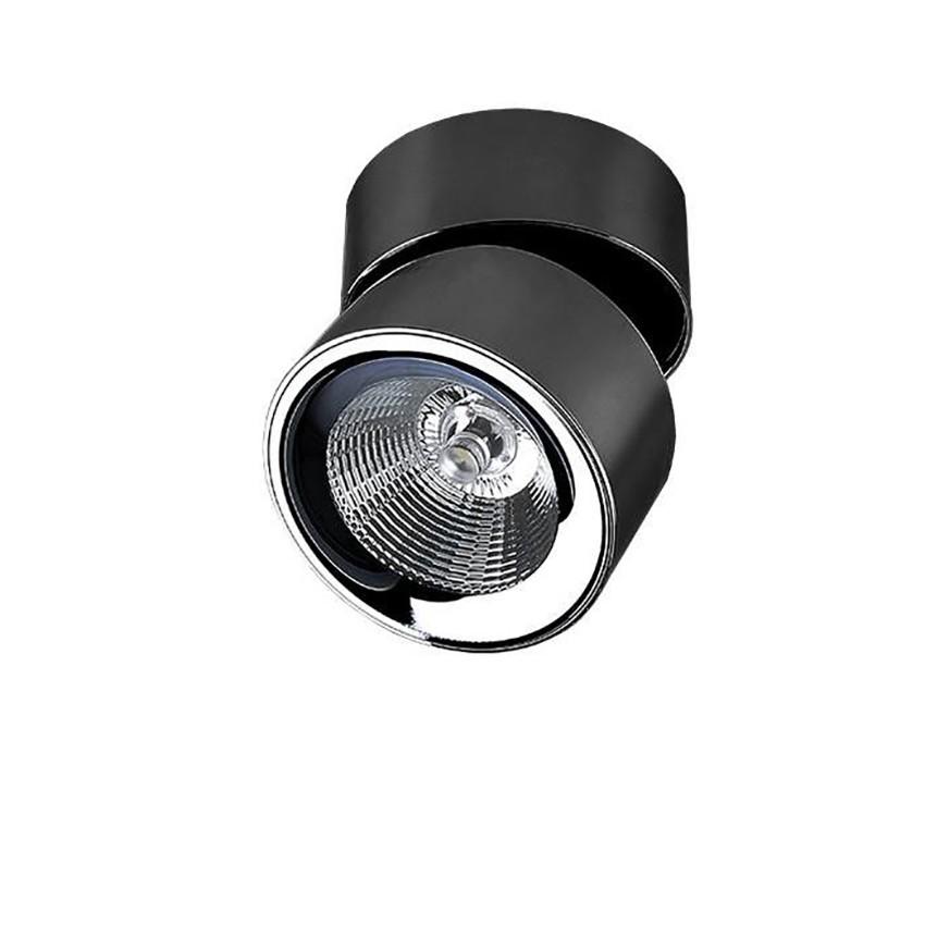 Spot LED modern aplicat tavan/plafon SCORPIO negru, Spoturi aplicate - tavan / perete, Corpuri de iluminat, lustre, aplice, veioze, lampadare, plafoniere. Mobilier si decoratiuni, oglinzi, scaune, fotolii. Oferte speciale iluminat interior si exterior. Livram in toata tara.  a