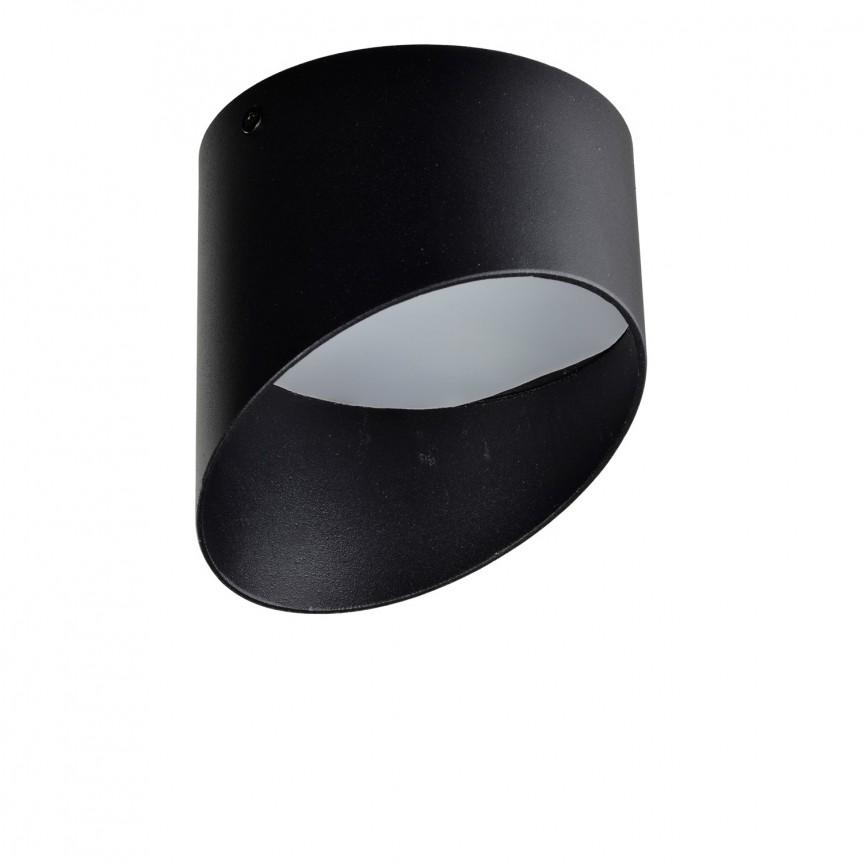 Spot LED aplicat tavan/plafon MOMO 14 negru, Spoturi LED incastrate, aplicate, Corpuri de iluminat, lustre, aplice, veioze, lampadare, plafoniere. Mobilier si decoratiuni, oglinzi, scaune, fotolii. Oferte speciale iluminat interior si exterior. Livram in toata tara.  a