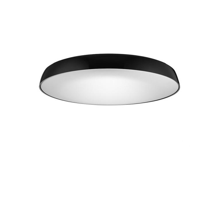 Plafoniera LED slim CORTONA 41 4000K neagra
