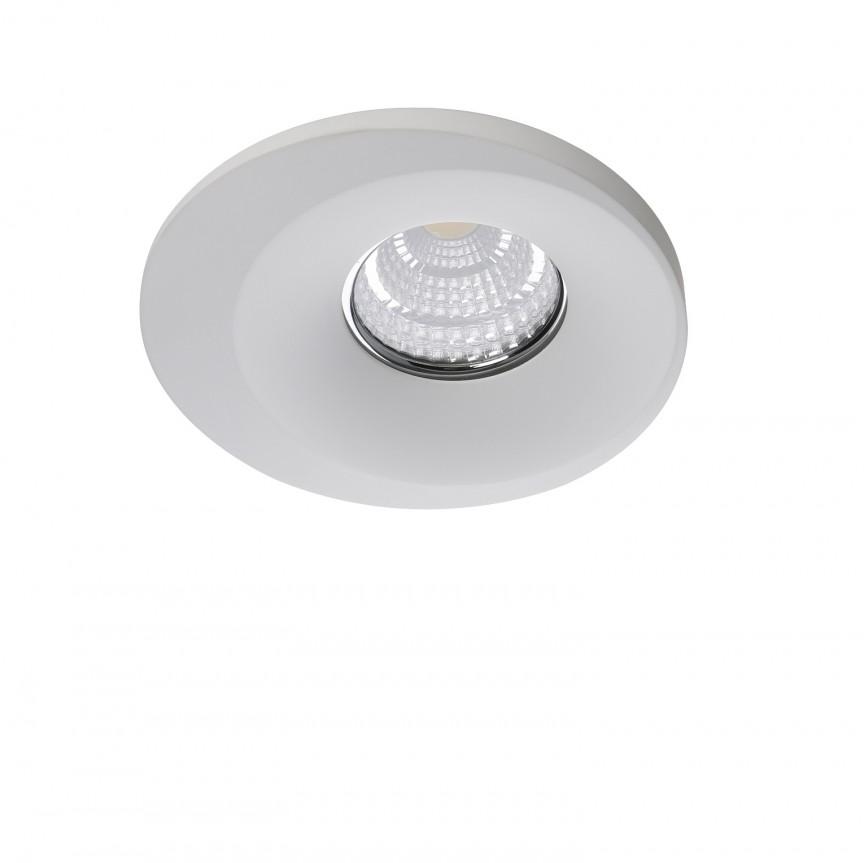 Spot incastrat tavan/plafon LORENZA alb, Promotii si Reduceri⭐ Oferte ✅Corpuri de iluminat ✅Lustre ✅Mobila ✅Decoratiuni de interior si exterior.⭕Pret redus online➜Lichidari de stoc❗ Magazin ➽ www.evalight.ro. a