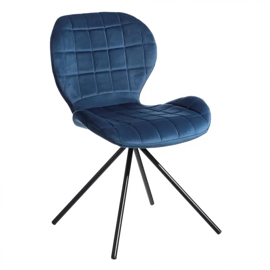 Set de 2 scaune Evilyna, albastru SX-107891, Seturi scaune dining, scaune HoReCa, Corpuri de iluminat, lustre, aplice, veioze, lampadare, plafoniere. Mobilier si decoratiuni, oglinzi, scaune, fotolii. Oferte speciale iluminat interior si exterior. Livram in toata tara.  a