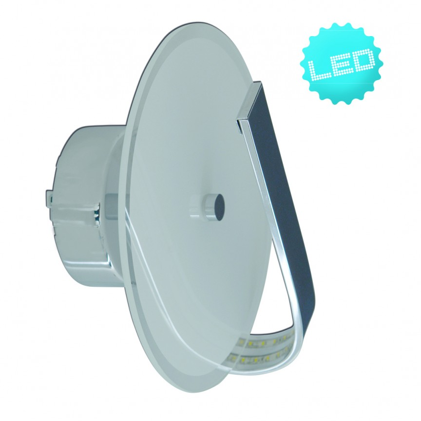 Aplica LED design modern Lucca 1191559 NV, Aplice de perete LED, Corpuri de iluminat, lustre, aplice, veioze, lampadare, plafoniere. Mobilier si decoratiuni, oglinzi, scaune, fotolii. Oferte speciale iluminat interior si exterior. Livram in toata tara.  a