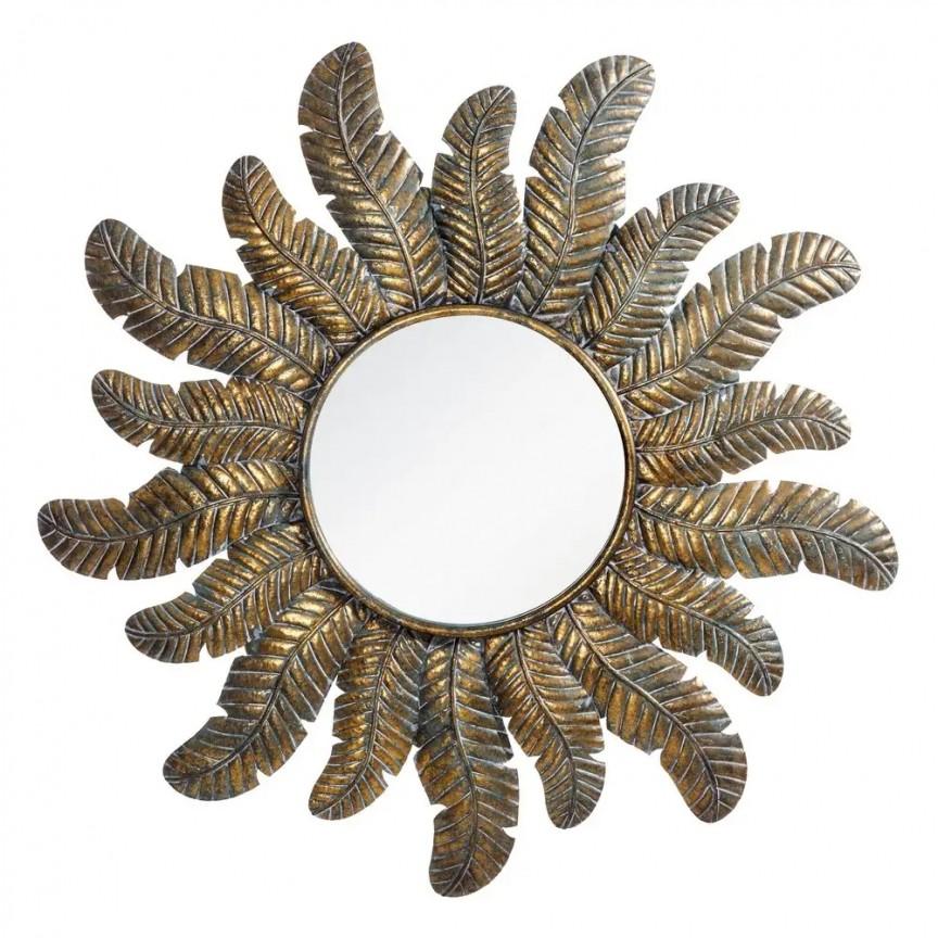 Oglinda decorativa Soare, 96,5cm SX-108361, Oglinzi decorative, Corpuri de iluminat, lustre, aplice, veioze, lampadare, plafoniere. Mobilier si decoratiuni, oglinzi, scaune, fotolii. Oferte speciale iluminat interior si exterior. Livram in toata tara.  a