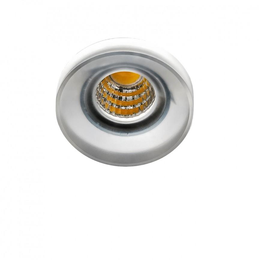 Spot LED incastrat tavan/plafon OKA AC 3000K acrilic, ILUMINAT INTERIOR LED , ⭐ modele moderne de lustre LED cu telecomanda potrivite pentru living, bucatarie, birou, dormitor, baie, camera copii (bebe si tineret), casa scarii, hol. ✅Design de lux premium actual Top 2020! ❤️Promotii lampi LED❗ ➽ www.evalight.ro. Alege oferte la sisteme si corpuri de iluminat cu LED dimabile (becuri cu leduri si module LED integrate cu lumina calda, naturala sau rece), ieftine si de lux, calitate deosebita la cel mai bun pret. a