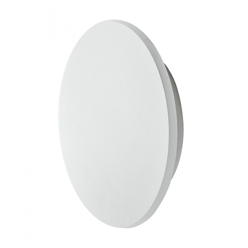 Aplica perete LED ambientala IP54 ANCONA M alba, Aplice de perete LED, Corpuri de iluminat, lustre, aplice, veioze, lampadare, plafoniere. Mobilier si decoratiuni, oglinzi, scaune, fotolii. Oferte speciale iluminat interior si exterior. Livram in toata tara.  a