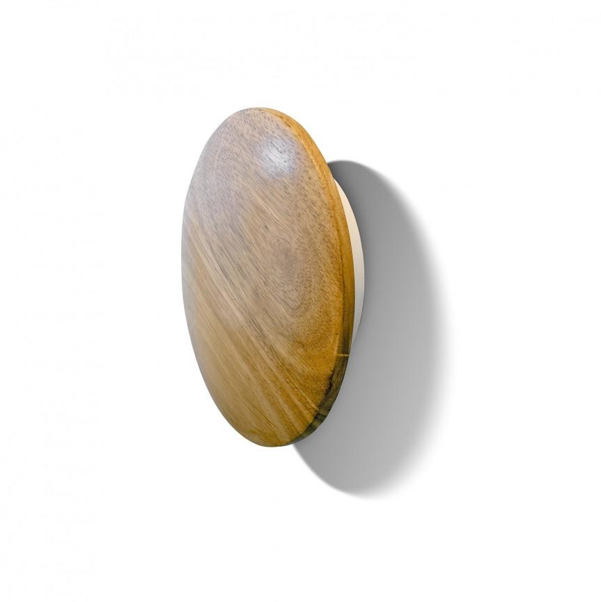 Aplica perete LED ambientala ANCONA WOOD S, Aplice de perete LED, Corpuri de iluminat, lustre, aplice, veioze, lampadare, plafoniere. Mobilier si decoratiuni, oglinzi, scaune, fotolii. Oferte speciale iluminat interior si exterior. Livram in toata tara.  a