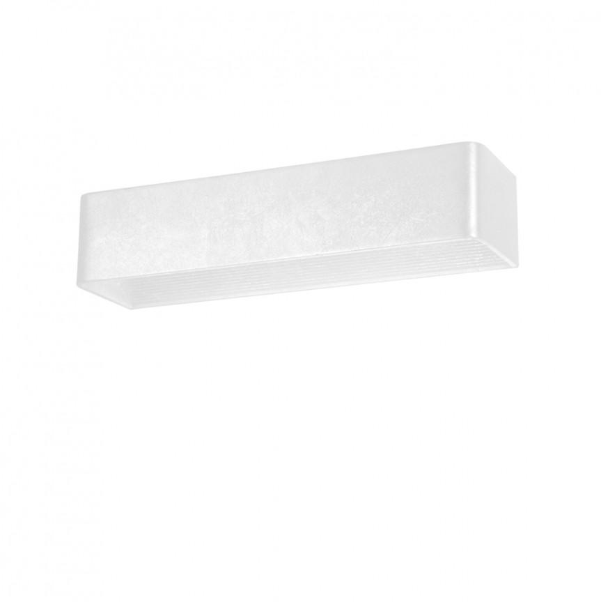 Aplica LED ambientala FELIX L alba, Aplice de perete LED, Corpuri de iluminat, lustre, aplice, veioze, lampadare, plafoniere. Mobilier si decoratiuni, oglinzi, scaune, fotolii. Oferte speciale iluminat interior si exterior. Livram in toata tara.  a