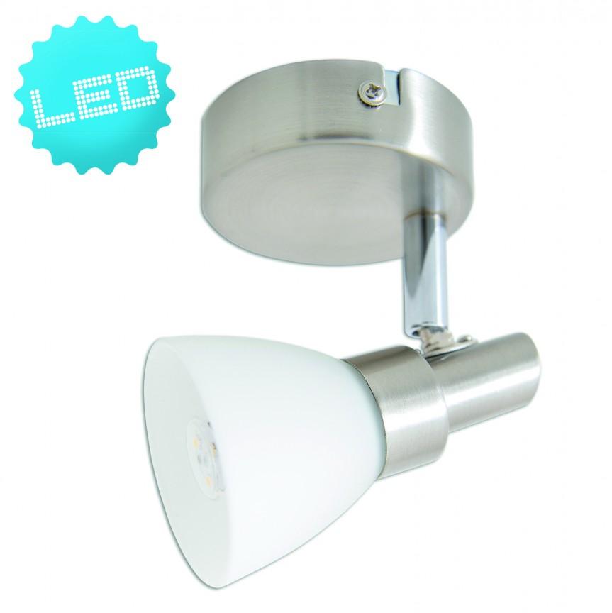 Aplica perete sau tavan G9 LED Feltre 1199050 NV, Spoturi - iluminat - cu 1 spot, Corpuri de iluminat, lustre, aplice, veioze, lampadare, plafoniere. Mobilier si decoratiuni, oglinzi, scaune, fotolii. Oferte speciale iluminat interior si exterior. Livram in toata tara.  a