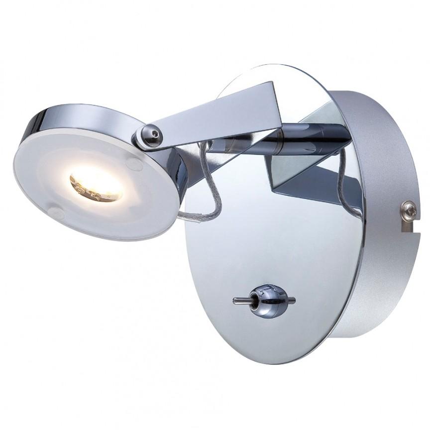 Aplica cu spot LED Platrix 1093342 NV, Spoturi - iluminat - cu 1 spot, Corpuri de iluminat, lustre, aplice, veioze, lampadare, plafoniere. Mobilier si decoratiuni, oglinzi, scaune, fotolii. Oferte speciale iluminat interior si exterior. Livram in toata tara.  a