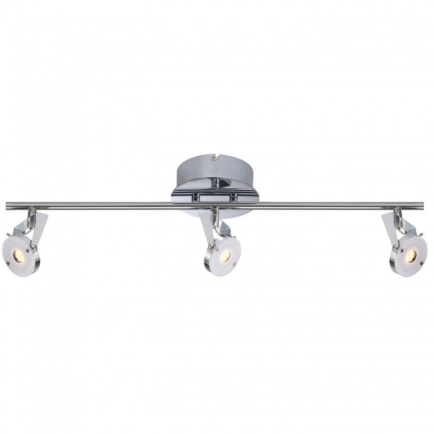 Plafoniera cu 3 spoturi LED Platrix 1096342 NV, Spoturi - iluminat - cu 3 spoturi, Corpuri de iluminat, lustre, aplice, veioze, lampadare, plafoniere. Mobilier si decoratiuni, oglinzi, scaune, fotolii. Oferte speciale iluminat interior si exterior. Livram in toata tara.  a