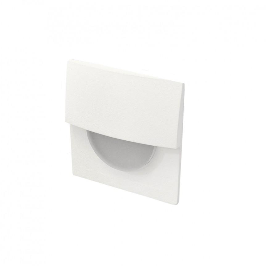 Spot LED incastrabil ambiental SANE FI 40 alb, Spoturi LED incastrate, aplicate, Corpuri de iluminat, lustre, aplice, veioze, lampadare, plafoniere. Mobilier si decoratiuni, oglinzi, scaune, fotolii. Oferte speciale iluminat interior si exterior. Livram in toata tara.  a