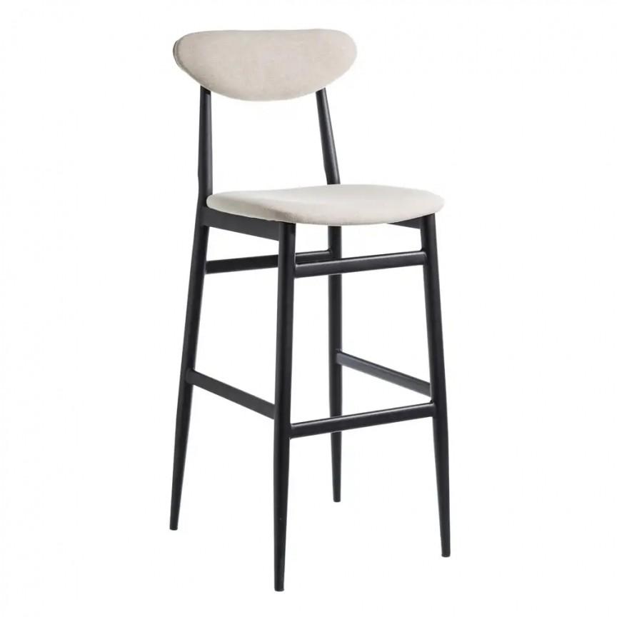 Set de 2 scaune bar Milan, tesatura bej SX-105373, Scaune de bar, Corpuri de iluminat, lustre, aplice, veioze, lampadare, plafoniere. Mobilier si decoratiuni, oglinzi, scaune, fotolii. Oferte speciale iluminat interior si exterior. Livram in toata tara.  a