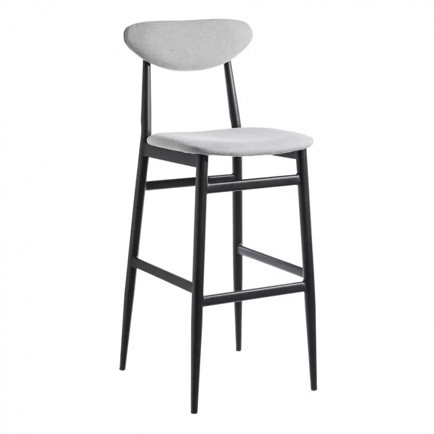 Set de 2 scaune bar Milan, tesatura gri SX-105375, Scaune de bar, Corpuri de iluminat, lustre, aplice, veioze, lampadare, plafoniere. Mobilier si decoratiuni, oglinzi, scaune, fotolii. Oferte speciale iluminat interior si exterior. Livram in toata tara.  a