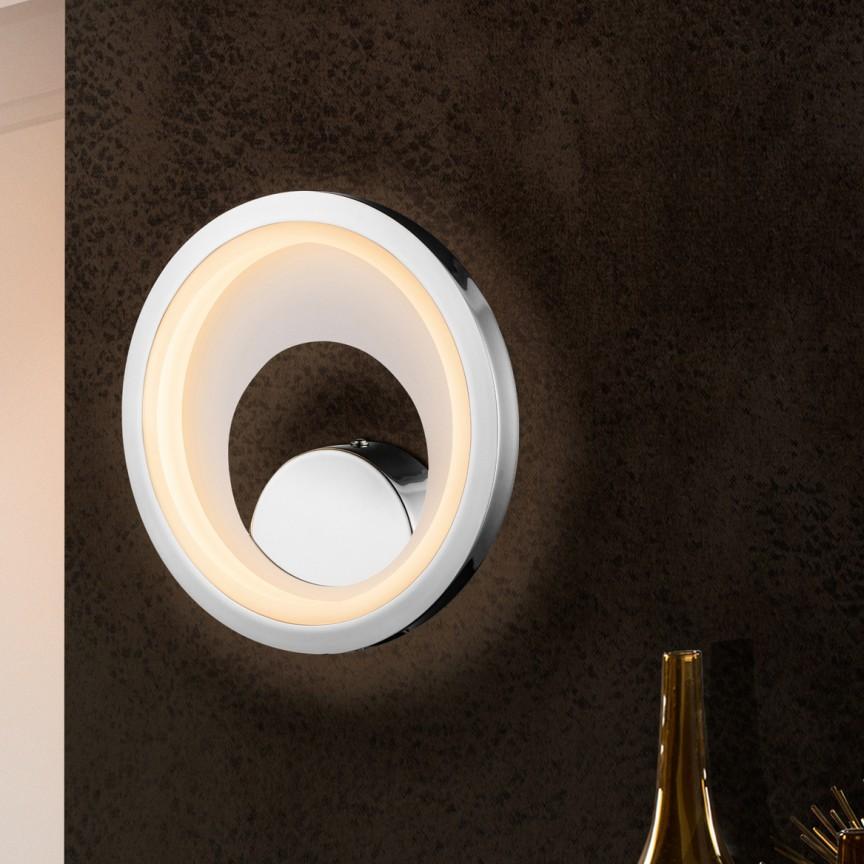 Aplica LED design modern Laris SV-281096, Aplice de perete moderne, Corpuri de iluminat, lustre, aplice, veioze, lampadare, plafoniere. Mobilier si decoratiuni, oglinzi, scaune, fotolii. Oferte speciale iluminat interior si exterior. Livram in toata tara.  a