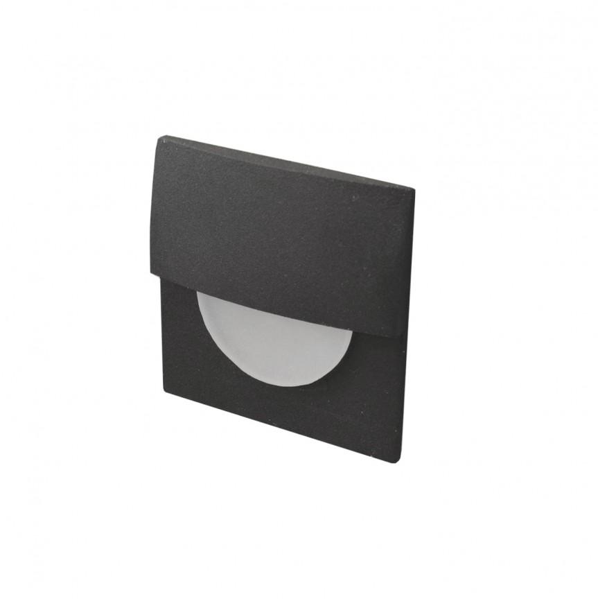 Spot LED incastrabil ambiental SANE FI 60 negru, Spoturi LED incastrate, aplicate, Corpuri de iluminat, lustre, aplice, veioze, lampadare, plafoniere. Mobilier si decoratiuni, oglinzi, scaune, fotolii. Oferte speciale iluminat interior si exterior. Livram in toata tara.  a
