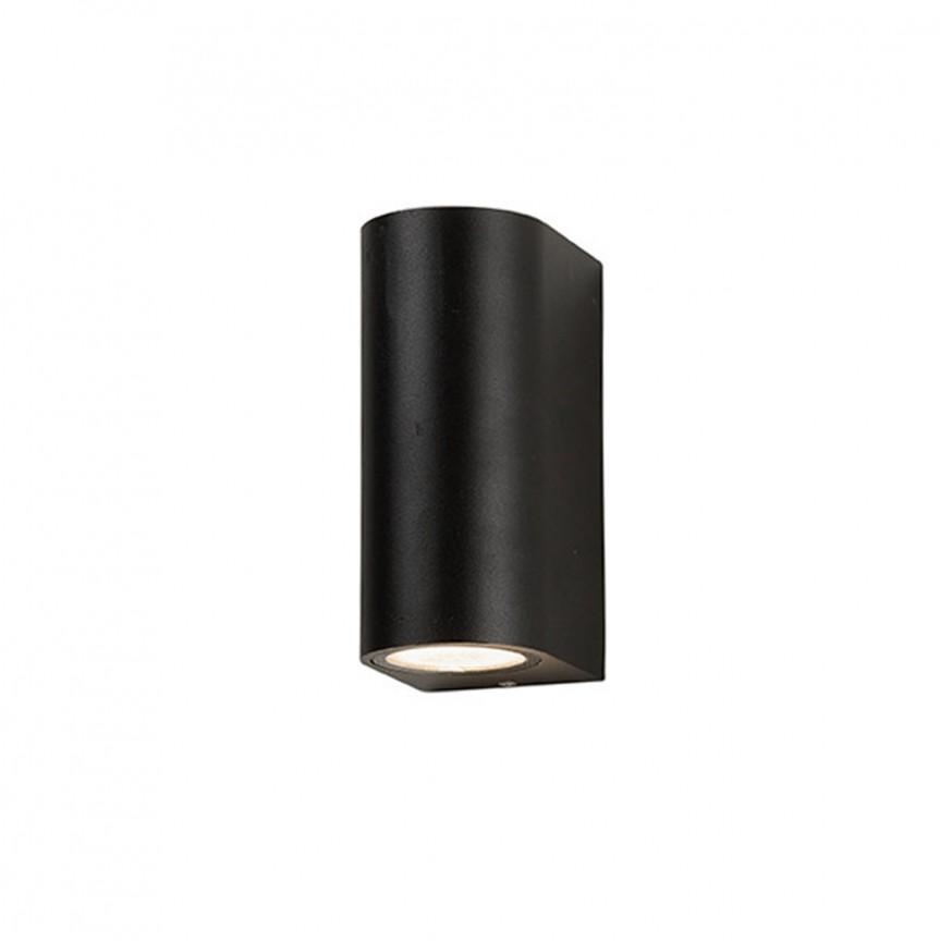 Aplica de perete exterior ambientala IP54 RIMINI 2 gri inchis, Aplice de exterior moderne , Corpuri de iluminat, lustre, aplice, veioze, lampadare, plafoniere. Mobilier si decoratiuni, oglinzi, scaune, fotolii. Oferte speciale iluminat interior si exterior. Livram in toata tara.  a