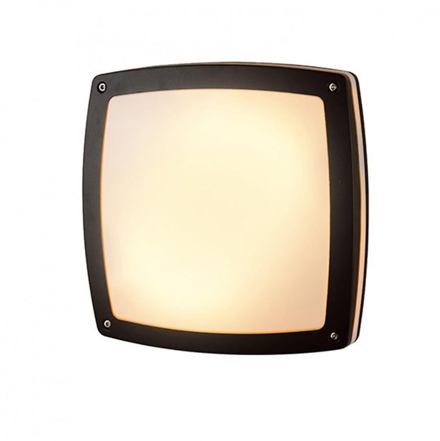 Aplica LED de perete / tavan pentru exterior IP54 FANO S, Plafoniere de exterior, Corpuri de iluminat, lustre, aplice, veioze, lampadare, plafoniere. Mobilier si decoratiuni, oglinzi, scaune, fotolii. Oferte speciale iluminat interior si exterior. Livram in toata tara.  a