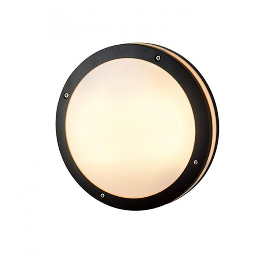Aplica LED de perete / tavan pentru exterior IP54 FANO R, Plafoniere de exterior, Corpuri de iluminat, lustre, aplice, veioze, lampadare, plafoniere. Mobilier si decoratiuni, oglinzi, scaune, fotolii. Oferte speciale iluminat interior si exterior. Livram in toata tara.  a