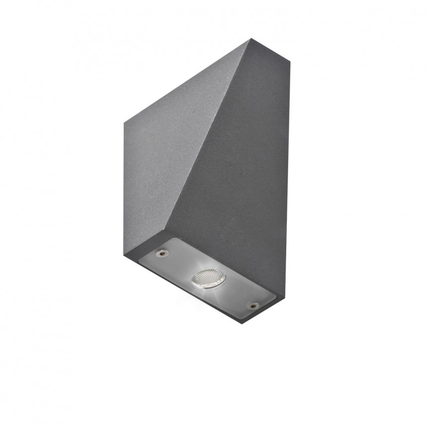 Aplica LED de perete exterior cu iluminat up-and-down IP44 ZITA, Aplice de exterior moderne , Corpuri de iluminat, lustre, aplice, veioze, lampadare, plafoniere. Mobilier si decoratiuni, oglinzi, scaune, fotolii. Oferte speciale iluminat interior si exterior. Livram in toata tara.  a