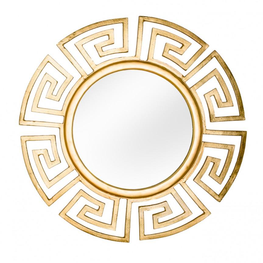 Oglinda decorativa Euphoria 85cm, auriu A-38744 VC, Oglinzi decorative, Corpuri de iluminat, lustre, aplice, veioze, lampadare, plafoniere. Mobilier si decoratiuni, oglinzi, scaune, fotolii. Oferte speciale iluminat interior si exterior. Livram in toata tara.  a