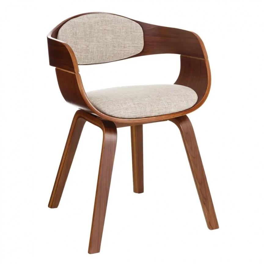Scaun elegant Woody, natur-bej SX-107404, Seturi scaune dining, scaune HoReCa, Corpuri de iluminat, lustre, aplice, veioze, lampadare, plafoniere. Mobilier si decoratiuni, oglinzi, scaune, fotolii. Oferte speciale iluminat interior si exterior. Livram in toata tara.  a