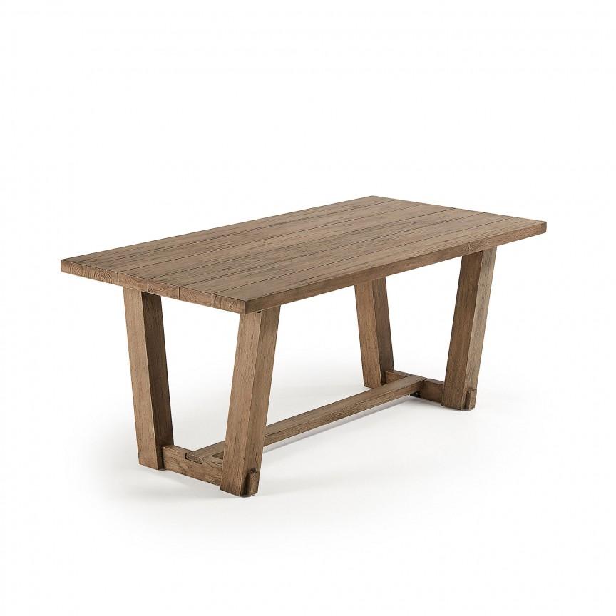 Masa din lemn pentru interior si exterior KOMET, 180x90cm CC0917M47 JG, Mese dining, Corpuri de iluminat, lustre, aplice, veioze, lampadare, plafoniere. Mobilier si decoratiuni, oglinzi, scaune, fotolii. Oferte speciale iluminat interior si exterior. Livram in toata tara.  a