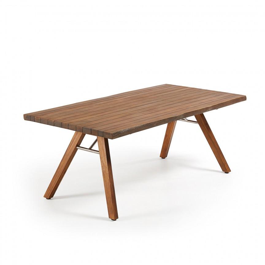 Masa din lemn pentru interior si exterior GUS, 200x100cm CC1057M46 JG, Mese dining, Corpuri de iluminat, lustre, aplice, veioze, lampadare, plafoniere. Mobilier si decoratiuni, oglinzi, scaune, fotolii. Oferte speciale iluminat interior si exterior. Livram in toata tara.  a