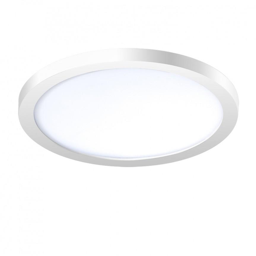 Spot LED pentru baie incastrat IP44 Slim 15 round 3000K alb, Spoturi incastrate - tavan fals / perete, Corpuri de iluminat, lustre, aplice, veioze, lampadare, plafoniere. Mobilier si decoratiuni, oglinzi, scaune, fotolii. Oferte speciale iluminat interior si exterior. Livram in toata tara.  a
