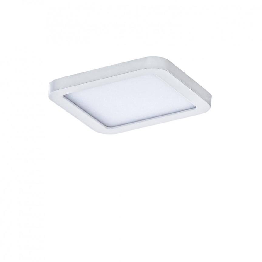 Spot LED pentru baie incastrat IP44 Slim 9 square 3000K alb, Spoturi incastrate - tavan fals / perete, Corpuri de iluminat, lustre, aplice, veioze, lampadare, plafoniere. Mobilier si decoratiuni, oglinzi, scaune, fotolii. Oferte speciale iluminat interior si exterior. Livram in toata tara.  a