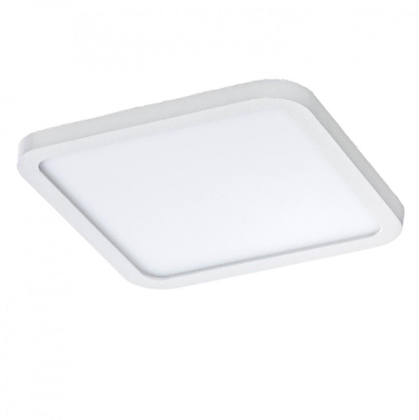 Spot LED pentru baie incastrat IP44 Slim 15 square 3000K alb, Spoturi incastrate - tavan fals / perete, Corpuri de iluminat, lustre, aplice, veioze, lampadare, plafoniere. Mobilier si decoratiuni, oglinzi, scaune, fotolii. Oferte speciale iluminat interior si exterior. Livram in toata tara.  a