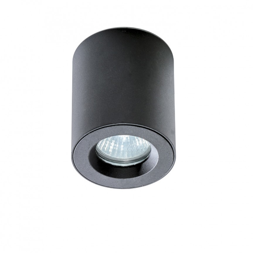 Spot pentru baie aplicat tavan/plafon ARO negru, Plafoniere cu protectie pentru baie, Corpuri de iluminat, lustre, aplice, veioze, lampadare, plafoniere. Mobilier si decoratiuni, oglinzi, scaune, fotolii. Oferte speciale iluminat interior si exterior. Livram in toata tara.  a