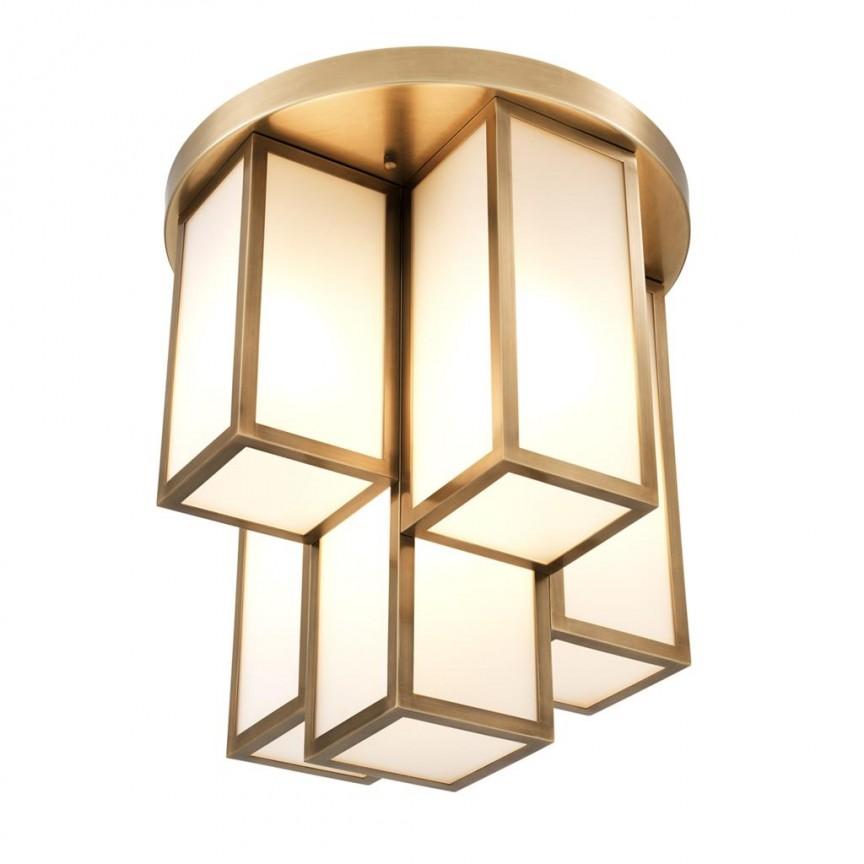Plafoniera design LUX Axel 50cm, alama antic 113152 HZ, Plafoniere moderne, Corpuri de iluminat, lustre, aplice, veioze, lampadare, plafoniere. Mobilier si decoratiuni, oglinzi, scaune, fotolii. Oferte speciale iluminat interior si exterior. Livram in toata tara.  a