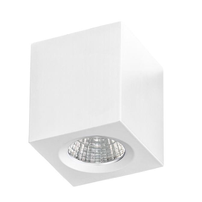 Mini Spot LED aplicat tavan/plafon NANO SQUARE alb, Spoturi LED incastrate, aplicate, Corpuri de iluminat, lustre, aplice, veioze, lampadare, plafoniere. Mobilier si decoratiuni, oglinzi, scaune, fotolii. Oferte speciale iluminat interior si exterior. Livram in toata tara.  a