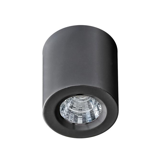 Mini Spot LED aplicat tavan/plafon NANO ROUND negru, Spoturi LED incastrate, aplicate, Corpuri de iluminat, lustre, aplice, veioze, lampadare, plafoniere. Mobilier si decoratiuni, oglinzi, scaune, fotolii. Oferte speciale iluminat interior si exterior. Livram in toata tara.  a
