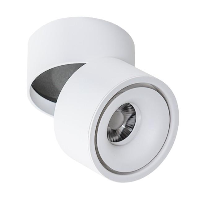 Spot LED aplicat directionabil de tavan/plafon COSTA alb, Spoturi LED incastrate, aplicate, Corpuri de iluminat, lustre, aplice, veioze, lampadare, plafoniere. Mobilier si decoratiuni, oglinzi, scaune, fotolii. Oferte speciale iluminat interior si exterior. Livram in toata tara.  a