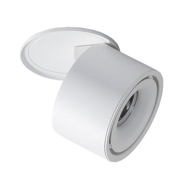 Spot LED incastrat directionabil de tavan/plafon COSTA alb, Spoturi LED incastrate, aplicate, Corpuri de iluminat, lustre, aplice, veioze, lampadare, plafoniere. Mobilier si decoratiuni, oglinzi, scaune, fotolii. Oferte speciale iluminat interior si exterior. Livram in toata tara.  a