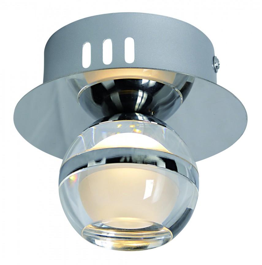 Aplica perete sau tavan LED design modern Sphere 1183142 NV, Spoturi aplicate - tavan / perete, Corpuri de iluminat, lustre, aplice, veioze, lampadare, plafoniere. Mobilier si decoratiuni, oglinzi, scaune, fotolii. Oferte speciale iluminat interior si exterior. Livram in toata tara.  a