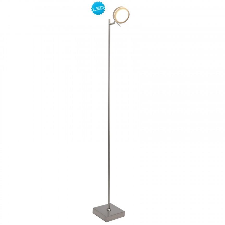 Lampadar LED dimabil cu spot din lemn, Triberg 2065014 NV, Veioze LED, Lampadare LED, Corpuri de iluminat, lustre, aplice, veioze, lampadare, plafoniere. Mobilier si decoratiuni, oglinzi, scaune, fotolii. Oferte speciale iluminat interior si exterior. Livram in toata tara.  a