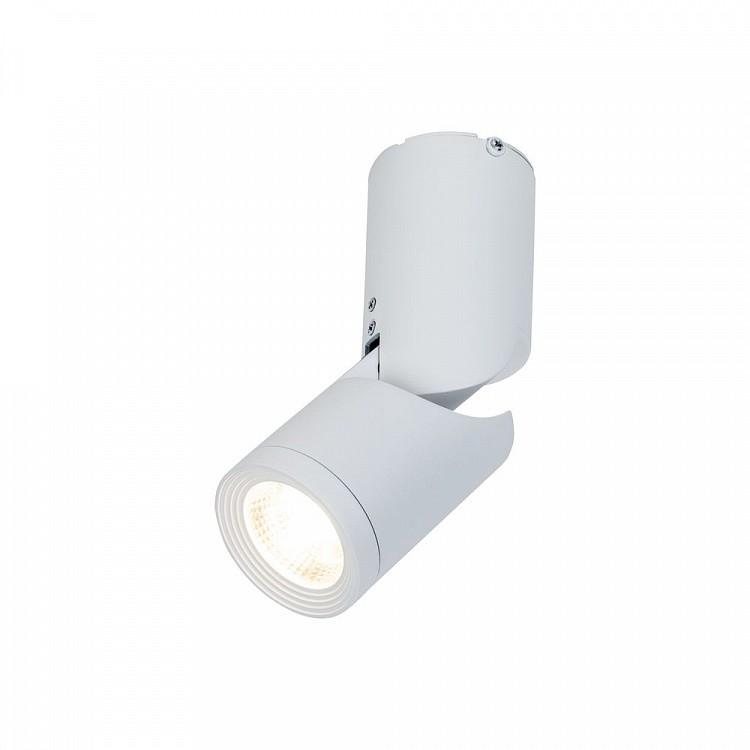 Spot LED reglabil 90° aplicat de tavan/plafon Tube MYC019CW-01W, Spoturi LED incastrate, aplicate, Corpuri de iluminat, lustre, aplice, veioze, lampadare, plafoniere. Mobilier si decoratiuni, oglinzi, scaune, fotolii. Oferte speciale iluminat interior si exterior. Livram in toata tara.  a