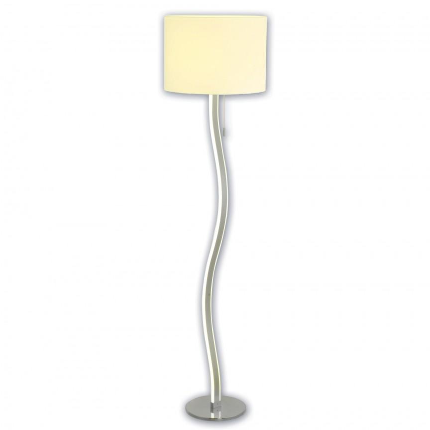 Lampadar LED design modern Aurelia 2065423 NV, Veioze LED, Lampadare LED, Corpuri de iluminat, lustre, aplice, veioze, lampadare, plafoniere. Mobilier si decoratiuni, oglinzi, scaune, fotolii. Oferte speciale iluminat interior si exterior. Livram in toata tara.  a