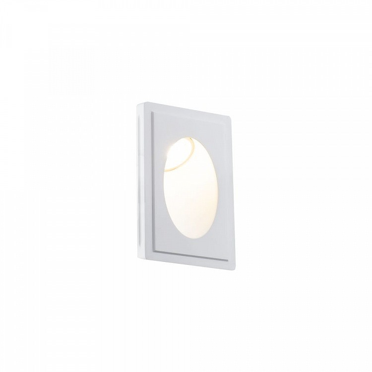 Spot incastrabil pentru perete iluminat ambiental Gyps MYDL012-1-01W, Spoturi incastrate - tavan fals / perete, Corpuri de iluminat, lustre, aplice, veioze, lampadare, plafoniere. Mobilier si decoratiuni, oglinzi, scaune, fotolii. Oferte speciale iluminat interior si exterior. Livram in toata tara.  a