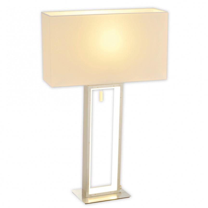 Veioza LED dimabil design modern Alicia 3141023 NV, Veioze LED, Lampadare LED, Corpuri de iluminat, lustre, aplice, veioze, lampadare, plafoniere. Mobilier si decoratiuni, oglinzi, scaune, fotolii. Oferte speciale iluminat interior si exterior. Livram in toata tara.  a