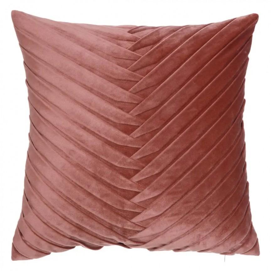 Perna 45x45cm MAREA, catifea roz SX-120882, Perne - Fete de perne, Corpuri de iluminat, lustre, aplice, veioze, lampadare, plafoniere. Mobilier si decoratiuni, oglinzi, scaune, fotolii. Oferte speciale iluminat interior si exterior. Livram in toata tara.  a