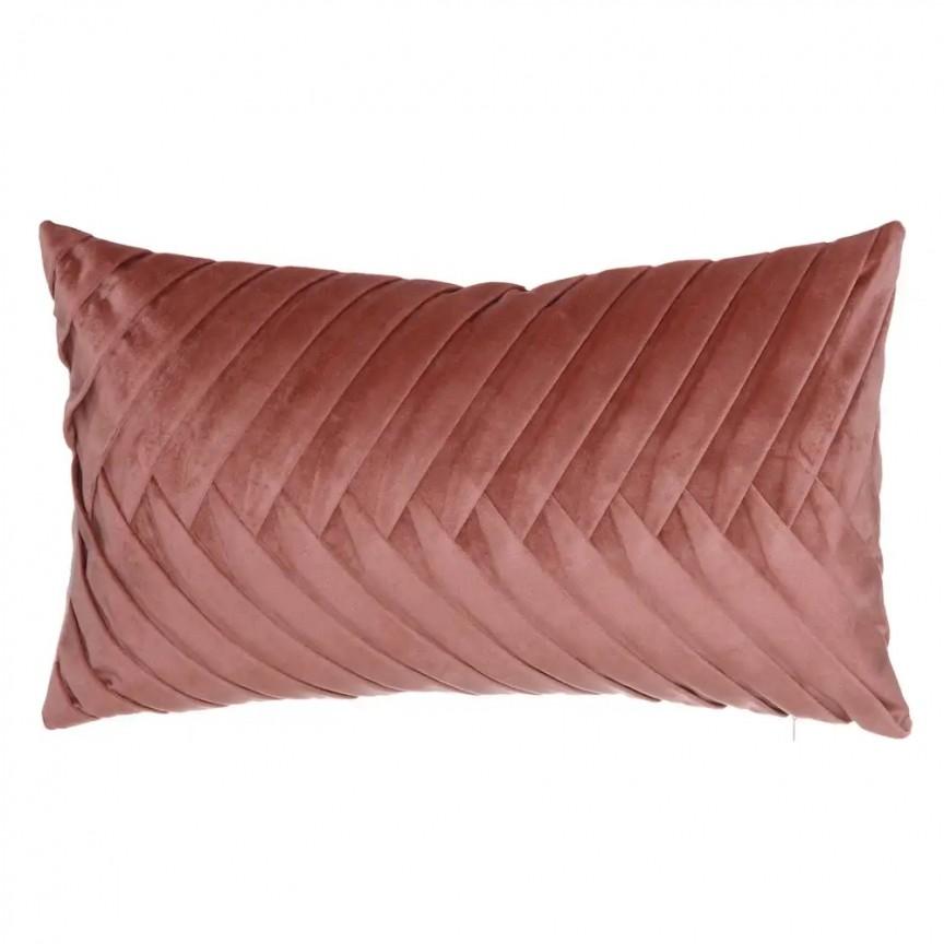 Perna 50x30cm MAREA, catifea roz SX-120879, Perne - Fete de perne, Corpuri de iluminat, lustre, aplice, veioze, lampadare, plafoniere. Mobilier si decoratiuni, oglinzi, scaune, fotolii. Oferte speciale iluminat interior si exterior. Livram in toata tara.  a