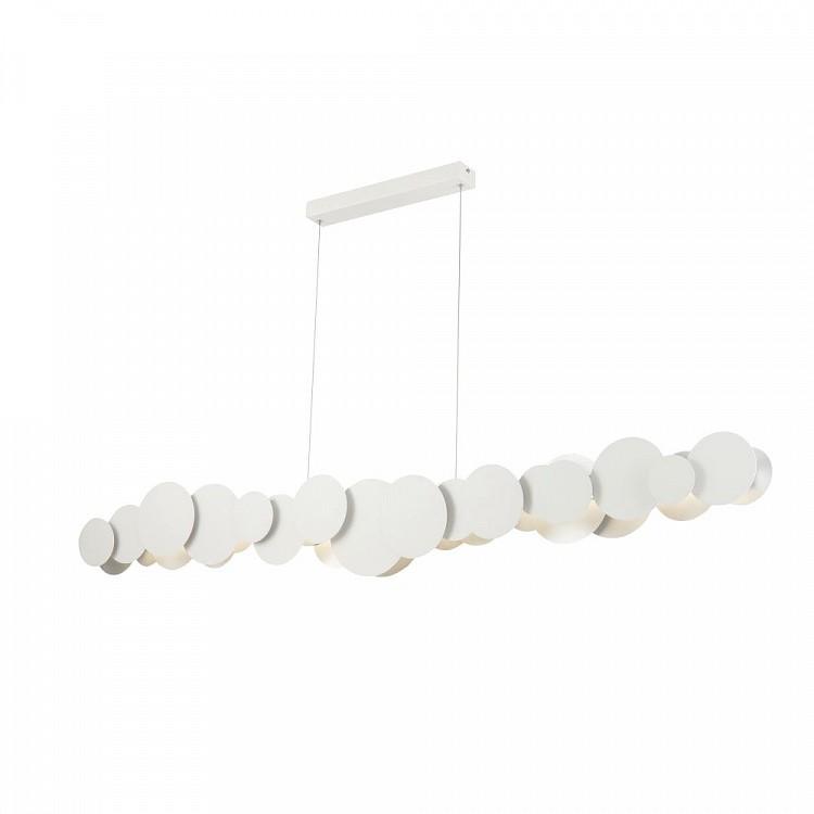 Lustra LED design modern decorativ Cloud 54W alb/argintiu MYMOD003PL-L54WS, Lustre LED, Pendule LED, Corpuri de iluminat, lustre, aplice, veioze, lampadare, plafoniere. Mobilier si decoratiuni, oglinzi, scaune, fotolii. Oferte speciale iluminat interior si exterior. Livram in toata tara.  a
