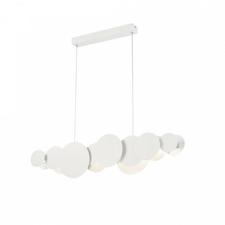 Lustra LED design modern decorativ Cloud 27W alb/argintiu MYMOD003PL-L27WS, Lustre LED, Pendule LED, Corpuri de iluminat, lustre, aplice, veioze, lampadare, plafoniere. Mobilier si decoratiuni, oglinzi, scaune, fotolii. Oferte speciale iluminat interior si exterior. Livram in toata tara.  a