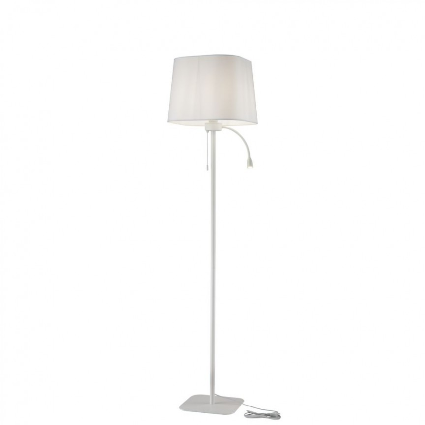 Lampadar / Lampa de podea design elegant Farel alb MYZ001FL-L3W-1W, Lampadare, Corpuri de iluminat, lustre, aplice, veioze, lampadare, plafoniere. Mobilier si decoratiuni, oglinzi, scaune, fotolii. Oferte speciale iluminat interior si exterior. Livram in toata tara.  a