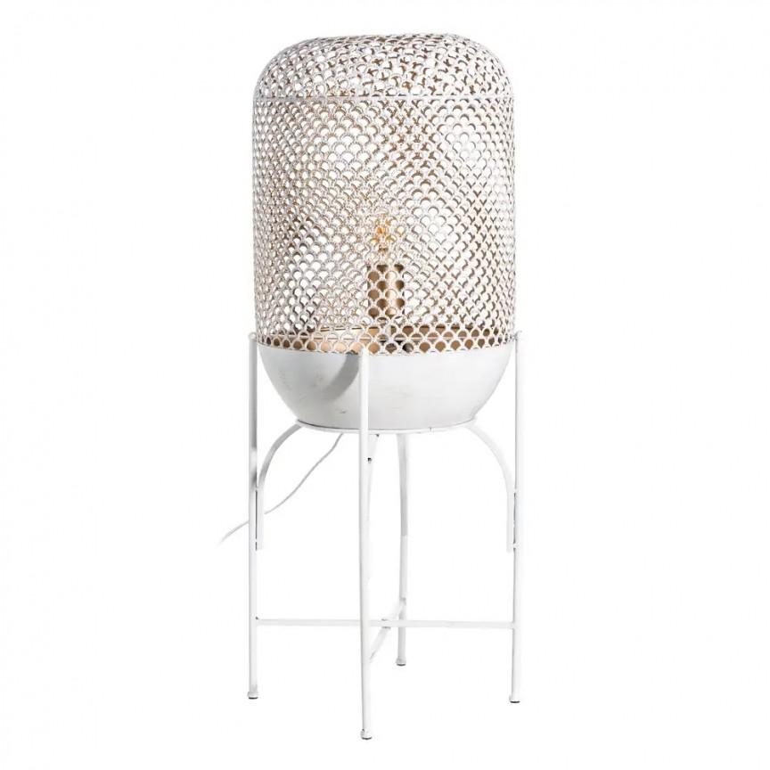 Lampadar / Lampa de podea din metal design retro BLANCO ROZADO, H-80cm SX-103460, NOU ! Lustre VINTAGE, RETRO, INDUSTRIA Style, Corpuri de iluminat, lustre, aplice, veioze, lampadare, plafoniere. Mobilier si decoratiuni, oglinzi, scaune, fotolii. Oferte speciale iluminat interior si exterior. Livram in toata tara.  a