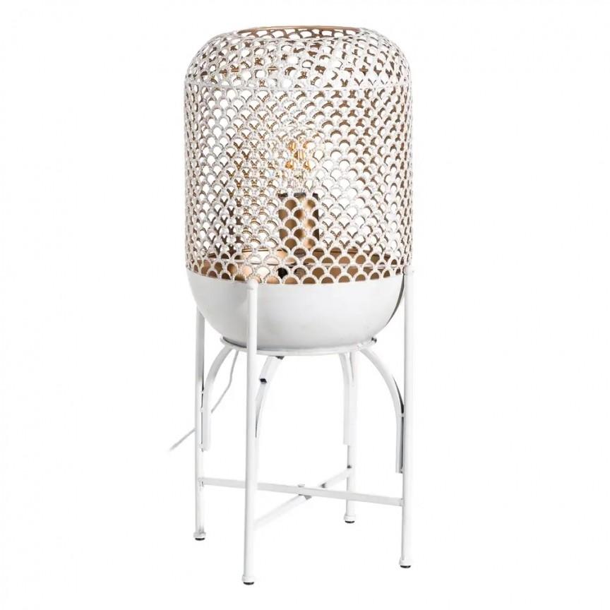Lampadar / Lampa de podea din metal design retro BLANCO ROZADO, H-59cm, NOU ! Lustre VINTAGE, RETRO, INDUSTRIA Style, Corpuri de iluminat, lustre, aplice, veioze, lampadare, plafoniere. Mobilier si decoratiuni, oglinzi, scaune, fotolii. Oferte speciale iluminat interior si exterior. Livram in toata tara.  a